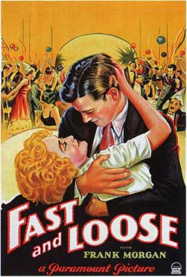 Fast and Loose - 27 x 40 Movie Poster - Style A