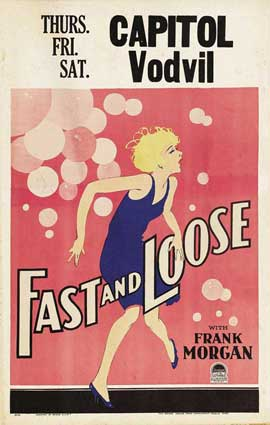 Fast and Loose - 11 x 17 Movie Poster - Style B