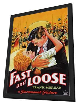 Fast and Loose - 11 x 17 Movie Poster - Style A - in Deluxe Wood Frame