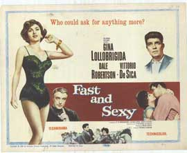 Fast and Sexy - 11 x 14 Movie Poster - Style A