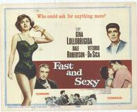 Fast and Sexy - 22 x 28 Movie Poster - Half Sheet Style A