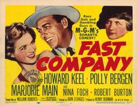 Fast Company - 11 x 14 Movie Poster - Style A