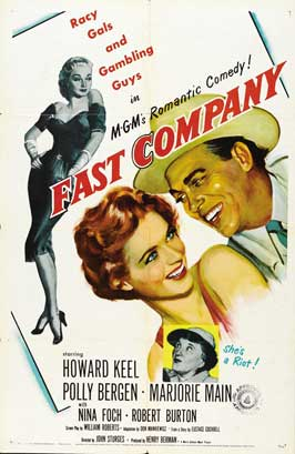 Fast Company - 27 x 40 Movie Poster - Style B