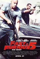 Fast Five - 11 x 17 Movie Poster - UK Style B