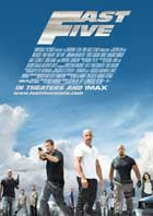 Fast Five - 11 x 17 Movie Poster - UK Style D