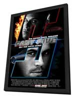 Fast Five - 11 x 17 Movie Poster - Style A - in Deluxe Wood Frame
