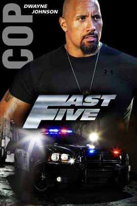Fast Five - 11 x 17 Movie Poster - UK Style A