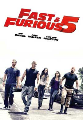 Fast Five - 11 x 17 Movie Poster - UK Style C