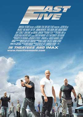 Fast Five - 27 x 40 Movie Poster - UK Style A