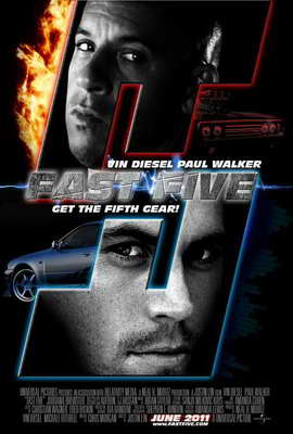 Fast Five - 27 x 40 Movie Poster