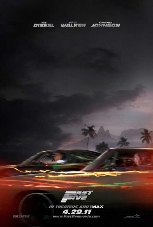 fast five movie poster. fast five poster 2011. fast