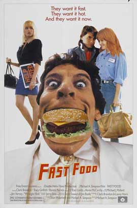 Fast Food - 11 x 17 Movie Poster - Style A