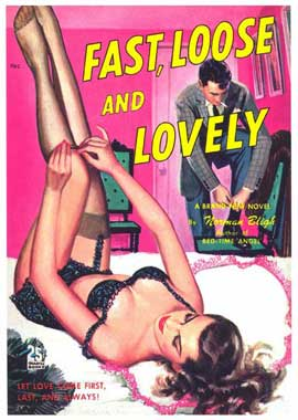 Fast, Loose, and Lovely - 11 x 17 Retro Book Cover Poster