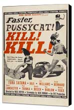 Faster, Pussycat! Kill! Kill! - 11 x 17 Movie Poster - Style D - Museum Wrapped Canvas