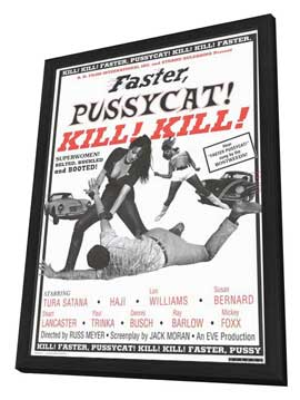Faster, Pussycat! Kill! Kill! - 11 x 17 Movie Poster - Style B - in Deluxe Wood Frame