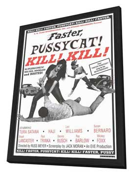 Faster, Pussycat! Kill! Kill! - 27 x 40 Movie Poster - Style B - in Deluxe Wood Frame