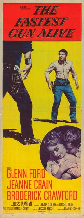 Fastest Gun Alive - 14 x 36 Movie Poster - Insert Style A