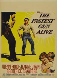 Fastest Gun Alive - 11 x 17 Movie Poster - Style B