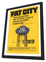 Fat City - 27 x 40 Movie Poster - Style A - in Deluxe Wood Frame