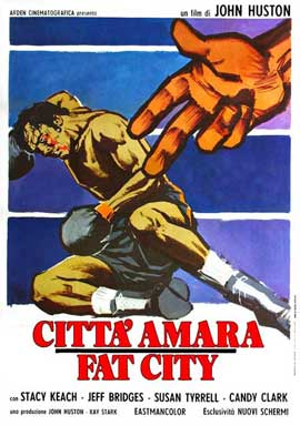 Fat City - 11 x 17 Movie Poster - Italian Style A