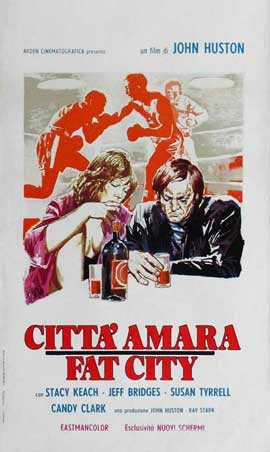 Fat City - 11 x 17 Movie Poster - Italian Style B