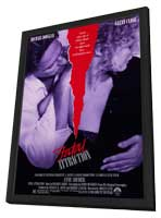 Fatal Attraction - 11 x 17 Movie Poster - Style A - in Deluxe Wood Frame