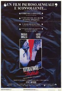 Fatal Attraction - 11 x 17 Movie Poster - Italian Style A
