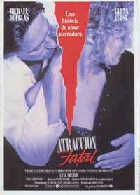 Fatal Attraction - 11 x 17 Movie Poster - Spanish Style A