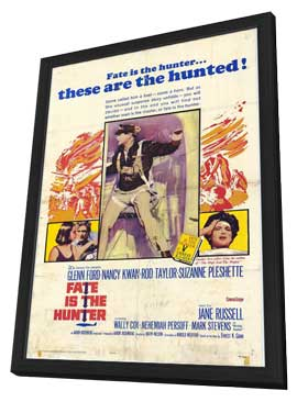 Fate is the Hunter - 11 x 17 Movie Poster - Style A - in Deluxe Wood Frame