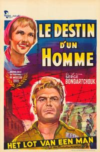 Fate of a Man - 11 x 17 Movie Poster - Belgian Style A