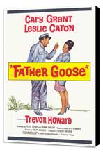 Father Goose - 27 x 40 Movie Poster - Style A - Museum Wrapped Canvas