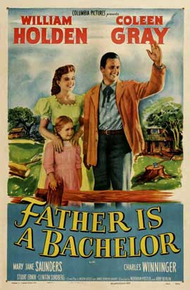 Father Is a Bachelor - 11 x 17 Movie Poster - Style A