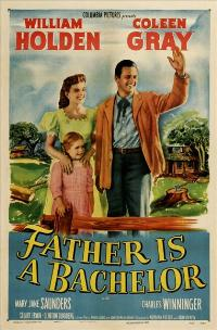 Father Is a Bachelor - 27 x 40 Movie Poster - Style A