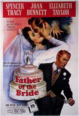 Father of the Bride - 11 x 17 Movie Poster - Style A