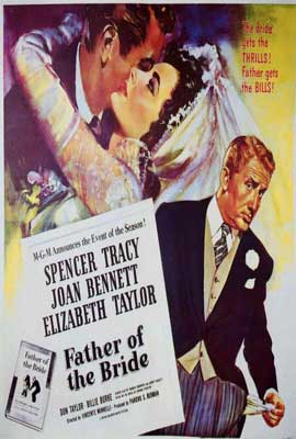 Father of the Bride - 27 x 40 Movie Poster - Style B