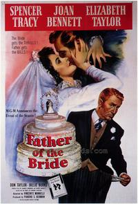 Father of the Bride - 43 x 62 Movie Poster - Bus Shelter Style A