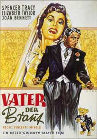 Father of the Bride - 11 x 17 Movie Poster - German Style A