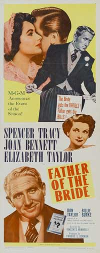 Father of the Bride - 14 x 36 Movie Poster - Insert Style A