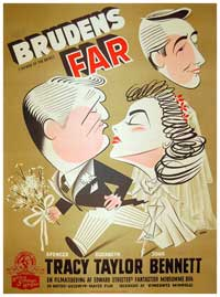 Father of the Bride - 11 x 17 Movie Poster - Danish Style A