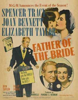 Father of the Bride - 27 x 40 Movie Poster - Style C