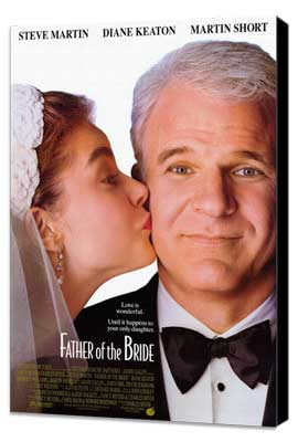 Father of the Bride - 27 x 40 Movie Poster - Style A - Museum Wrapped Canvas