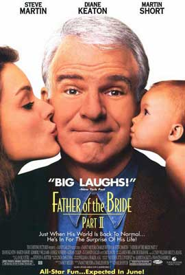 Father of the Bride Part II - 27 x 40 Movie Poster - Style A