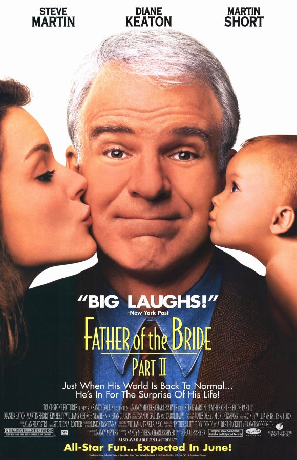 Father Of The Bride Part Ii Movie Posters From Movie