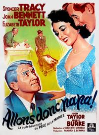 Father's Little Dividend - 11 x 17 Movie Poster - French Style A