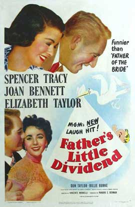 Father's Little Dividend - 11 x 17 Movie Poster - Style A