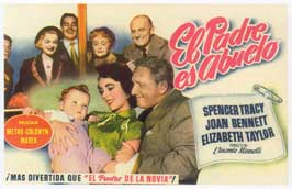 Father's Little Dividend - 11 x 17 Movie Poster - Spanish Style C