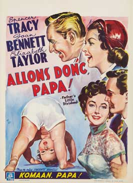 Father's Little Dividend - 11 x 17 Movie Poster - Belgian Style A