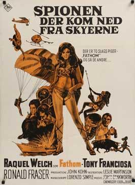 Fathom - 11 x 17 Movie Poster - Danish Style A