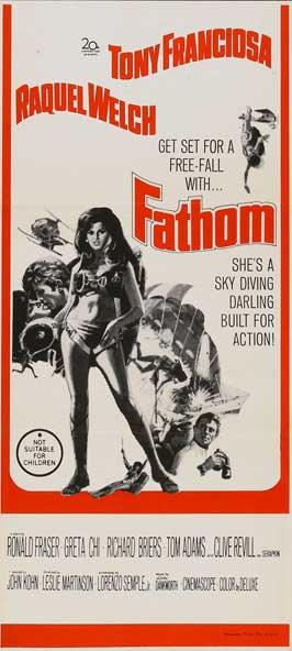 Fathom - 13 x 30 Movie Poster - Australian Style A