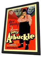 Fatty Arbuckle - 11 x 17 Movie Poster - Style A - in Deluxe Wood Frame